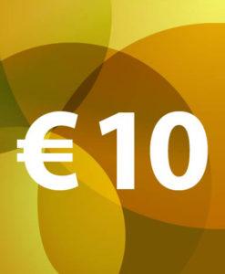 Voucher €10