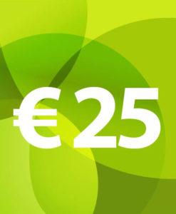 Voucher €25