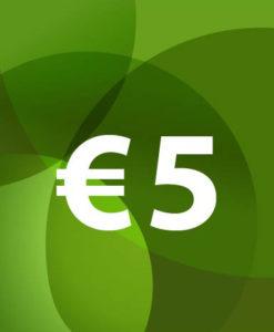 Voucher €5